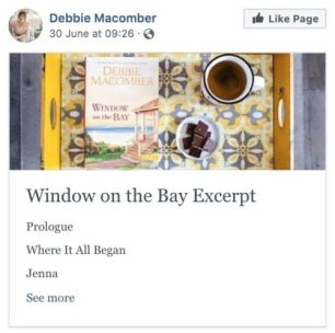 Ways Authors Use Facebook Book Excerpt