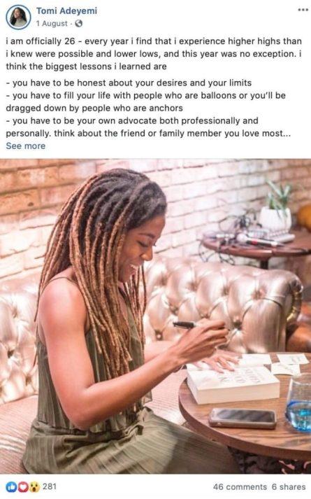 Ways Authors Use Facebook Tomi Adeyemi