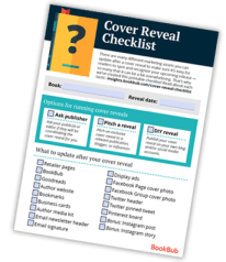 Cover Reveal Checklist