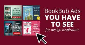BookBub Ads for Design Inspiration