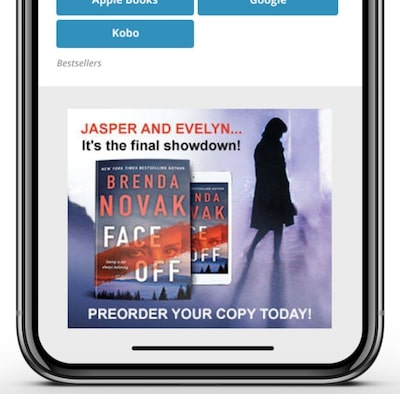 Cover Reveal Display Ads