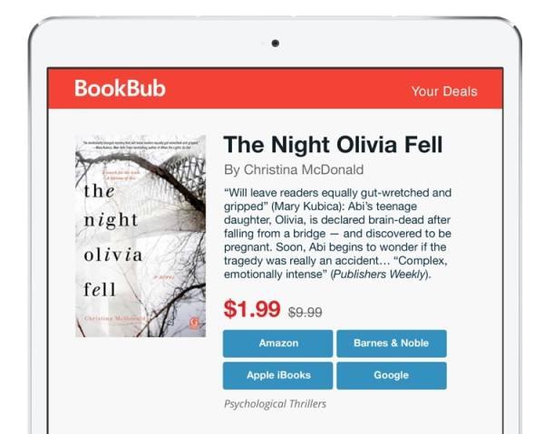Night Olivia Fell Christina McDonald