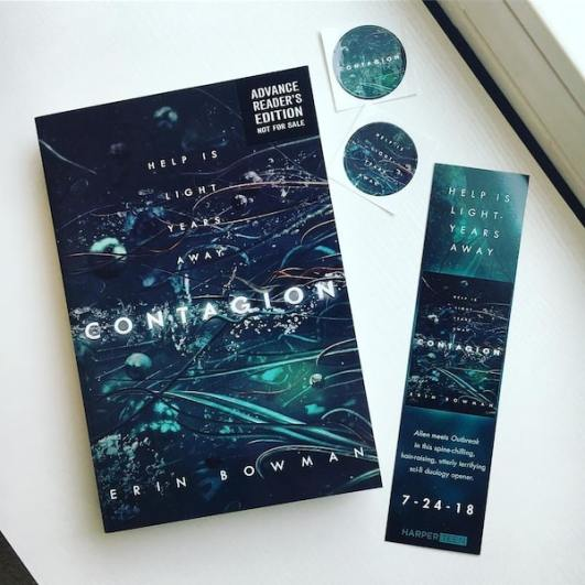 Contagion Bookmarks