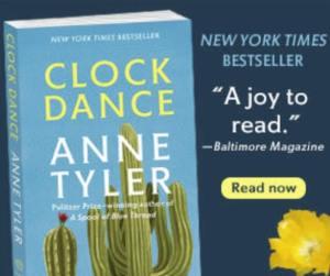 BookBub Ads Design Inspiration Clock Dance