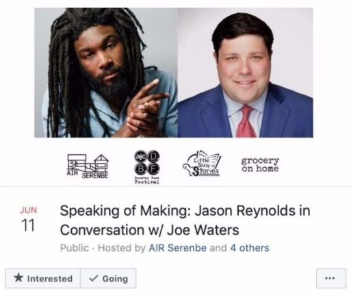 Ways Authors Use Facebook Pages Promote Their Books Jason Reynolds