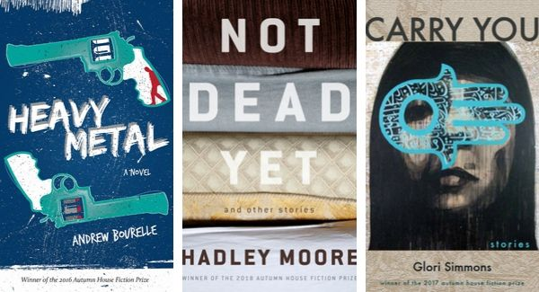 Past winners of the Autumn House Fiction Prize