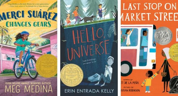 Newbery Medal book award previous winners