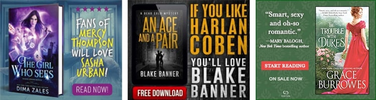 BookBub Ads Examples Aligning Copy and Targeting