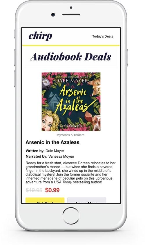 Arsenic in the Azaleas chirp ad