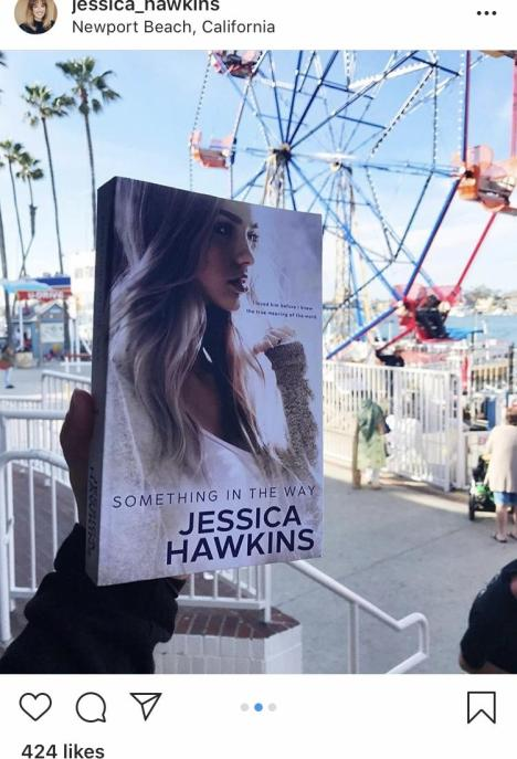 Something in the Way by Jessica Hawkins instagram post
