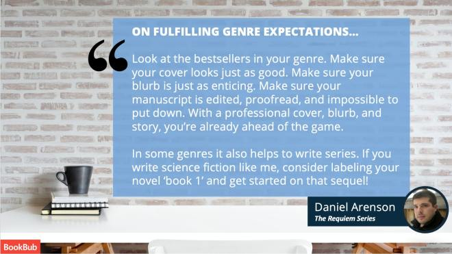 Daniel Arenson self-publishing advice for authors