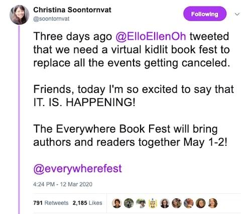 Christina Soontornvat twitter