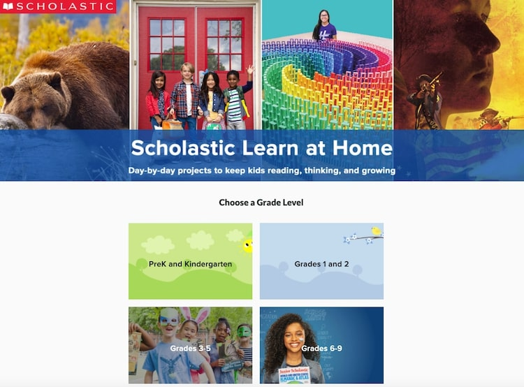 Scholastic Learn at Home resources during covid-19