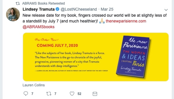 Lindsey Tramuta upcoming book
