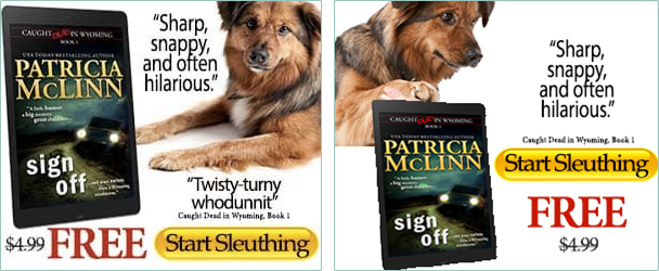 Patricia McLinn ad creative for BookBub