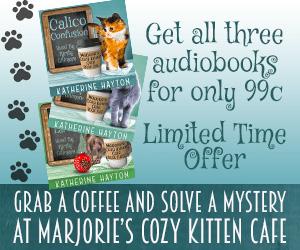 Marjorie's Cozy Kitten Cafe Audiobook Ad