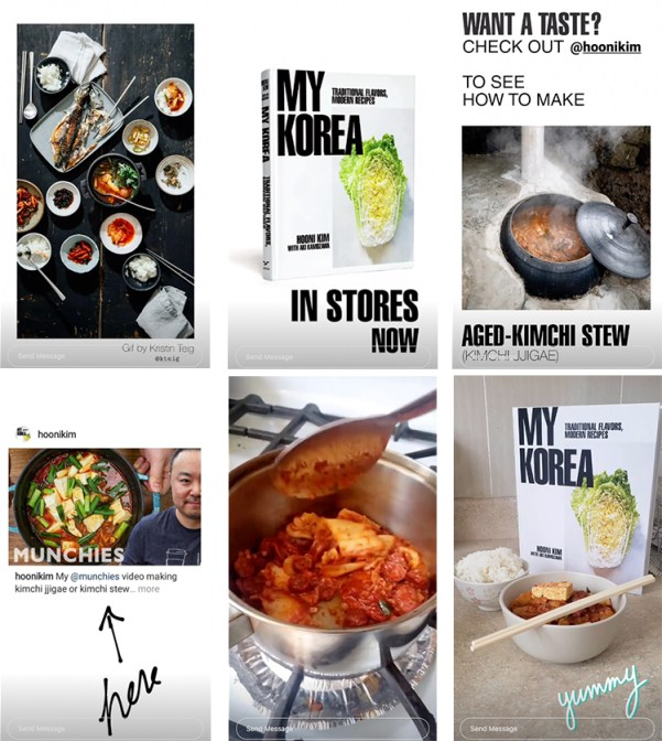 Cookbook Instagram Story
