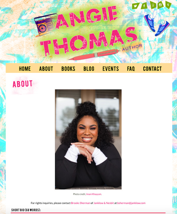 Angie Thomas Headshot