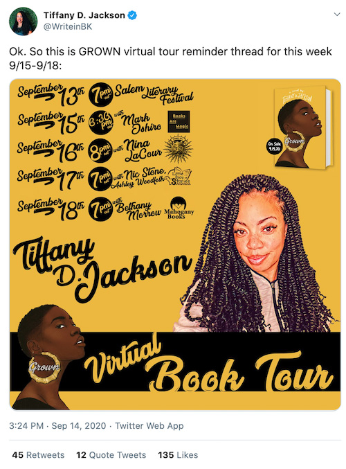 Virtual Book Festival Tour Stop