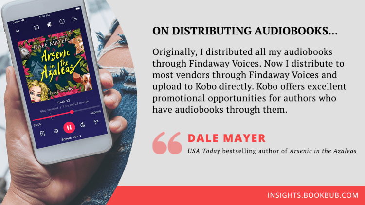 Audiobook publishing tip from Dale Meyer