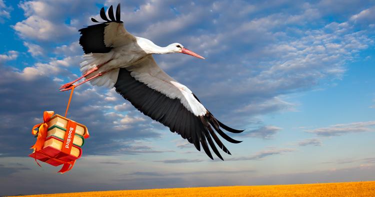 BookBird Stork