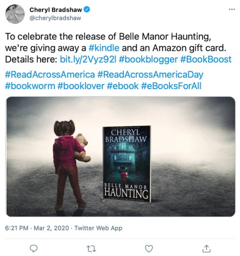 Author Giveaway