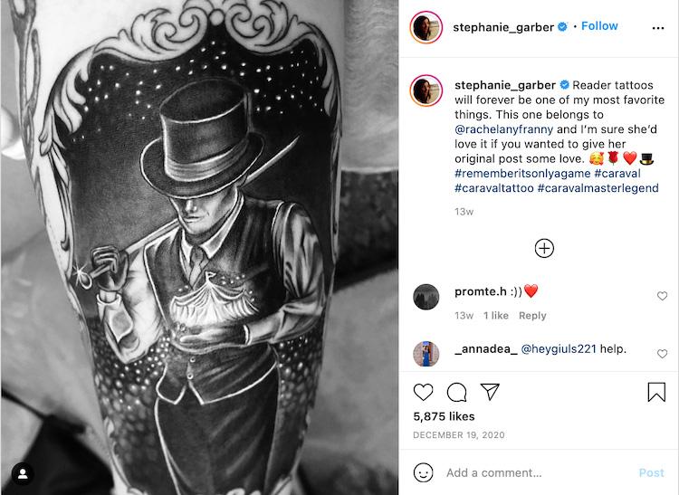 Reader Tattoo