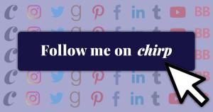 Chirp Follow Buttons for Authors' & Narrators' Websites
