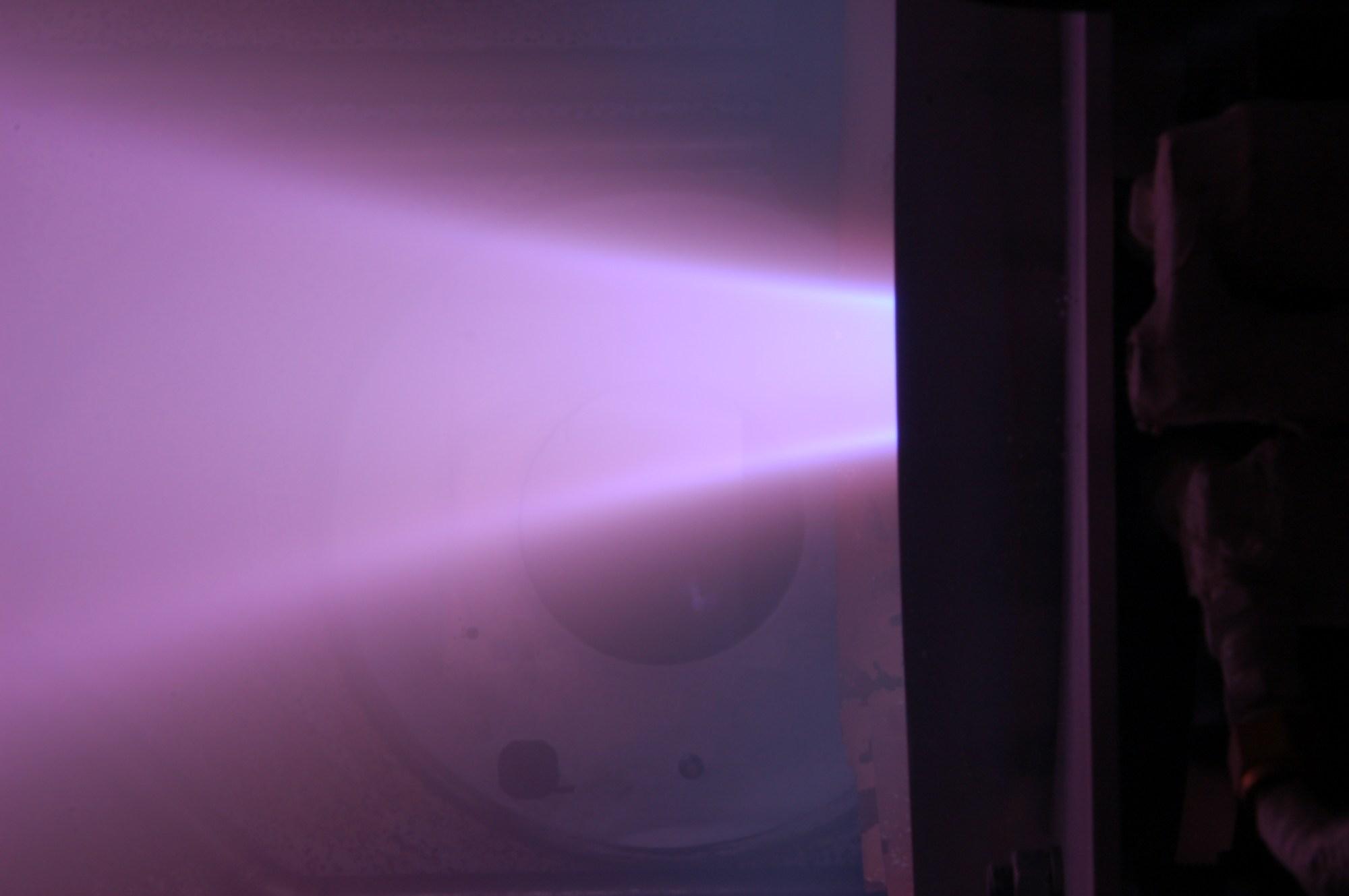 hight resolution of princeton university s argon lorentz force accelerator alfa a type of applied field