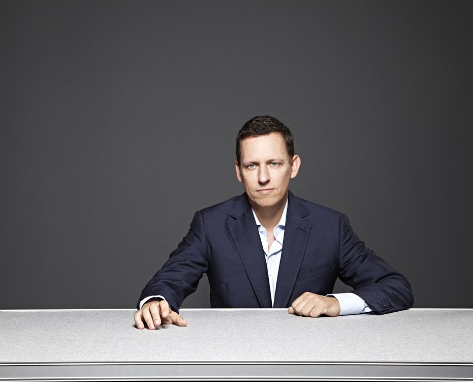 Peter Thiel imagen Scott Hartley