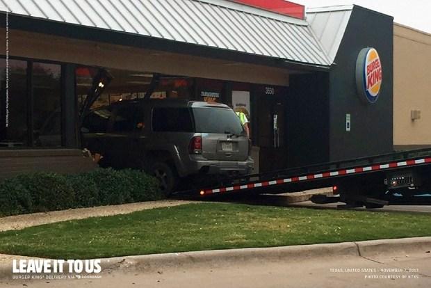 Imagen 003 Burger King servicio delivery accidentes