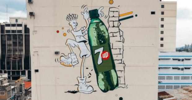 Fido Dido mural