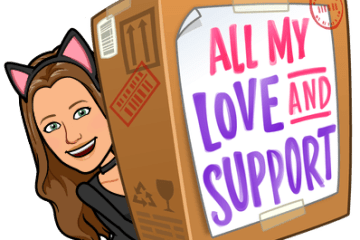 All my love and support Bitmoji