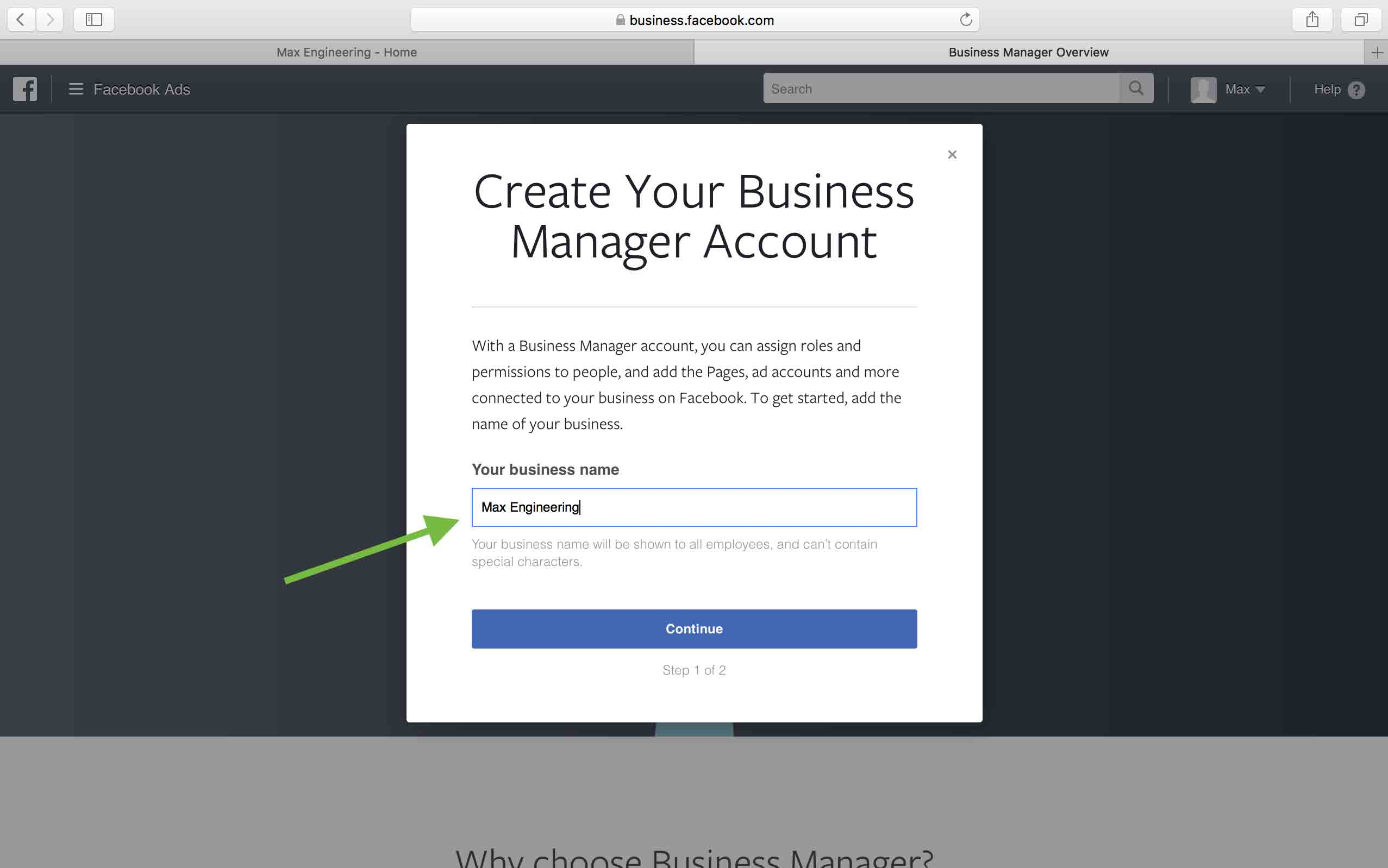 How to Create a Facebook Business Manager Account  Give
