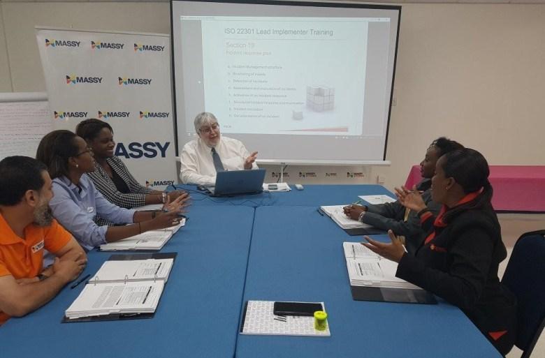Massy-ISO22301-training-ContinuityLink