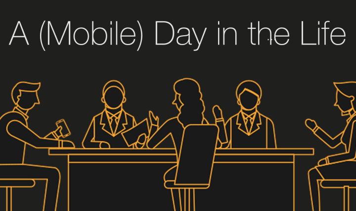 a day in the life of a 100% mobile worker