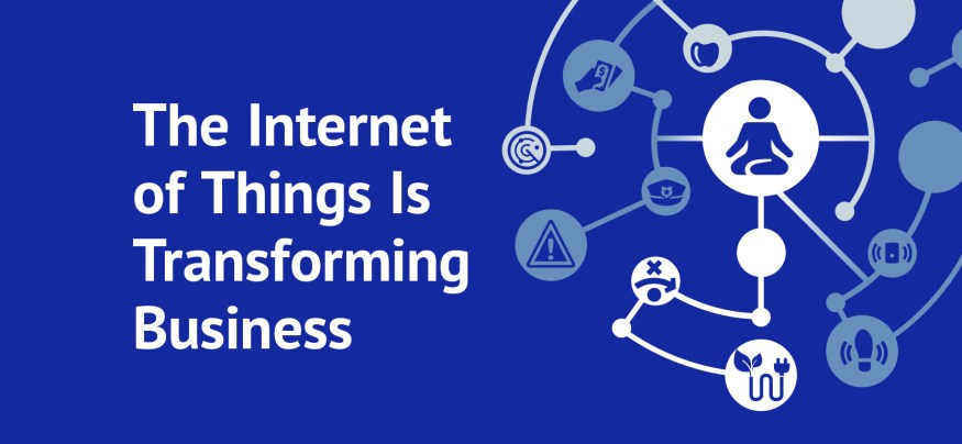 the internet of things is transforming business