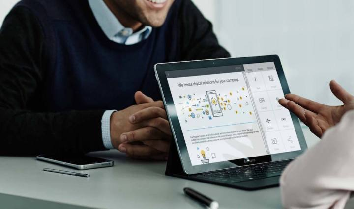 Business tablets achieve a new level of functionality with the Galaxy TabPro S.