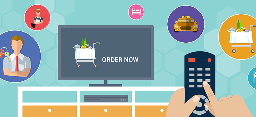 Smart TVs can enhance the guest experience and improve hotel operations.