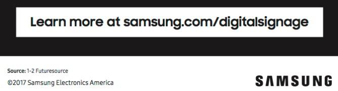 learn more about digital signage at samsung.com/digitalsignage