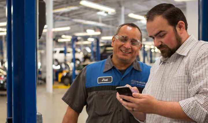 The Samsung Galaxy S7 improves all aspects of the customer experience at Continental Automotive.