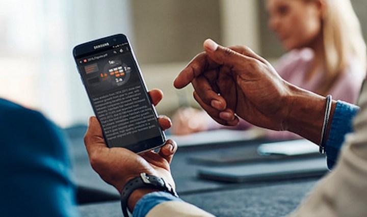 Work efficiency has improved as smartphone usage increases.