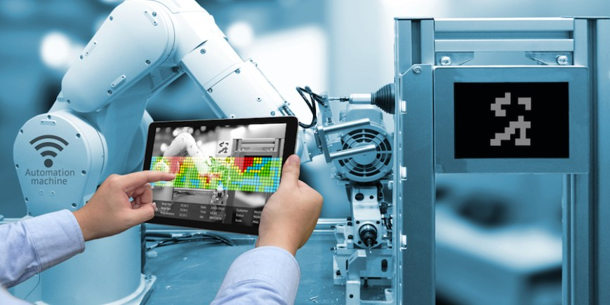 Thumbnail for: How Mobile Devices Support Robotics Management in Manufacturing