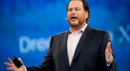 Marc Benioff reports unprecedented spending on technology