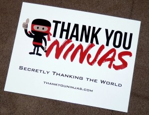 Thank you ninjas