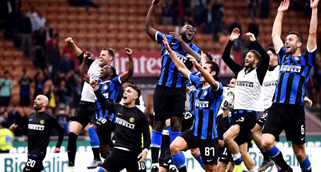 Inter regain Serie A lead with derby triumph over AC Milan