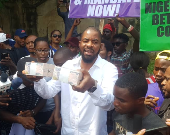 Video: They offered us One million naira at gunpoint to suspend #FreeSowore protest – Deji Adeyanju