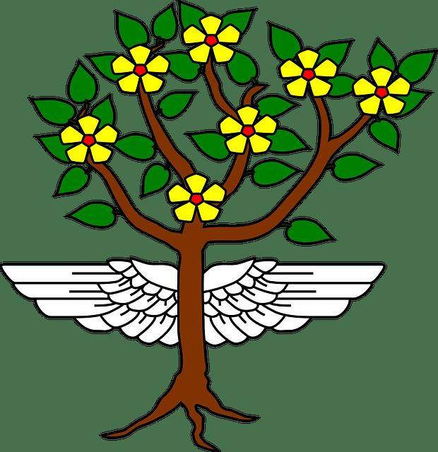 Winged tree