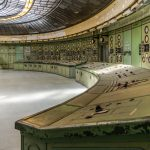 old fashion control room in power plant
