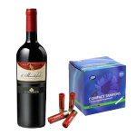 Wine, shotgun shells, and tampons